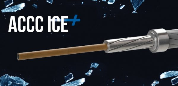 ACCC ICE+ conductor