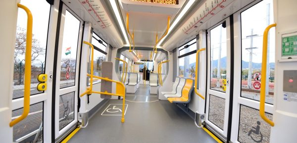 Mauritius Metro Express contact wire