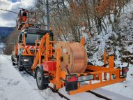 Lamifil catenary wires La Mure project